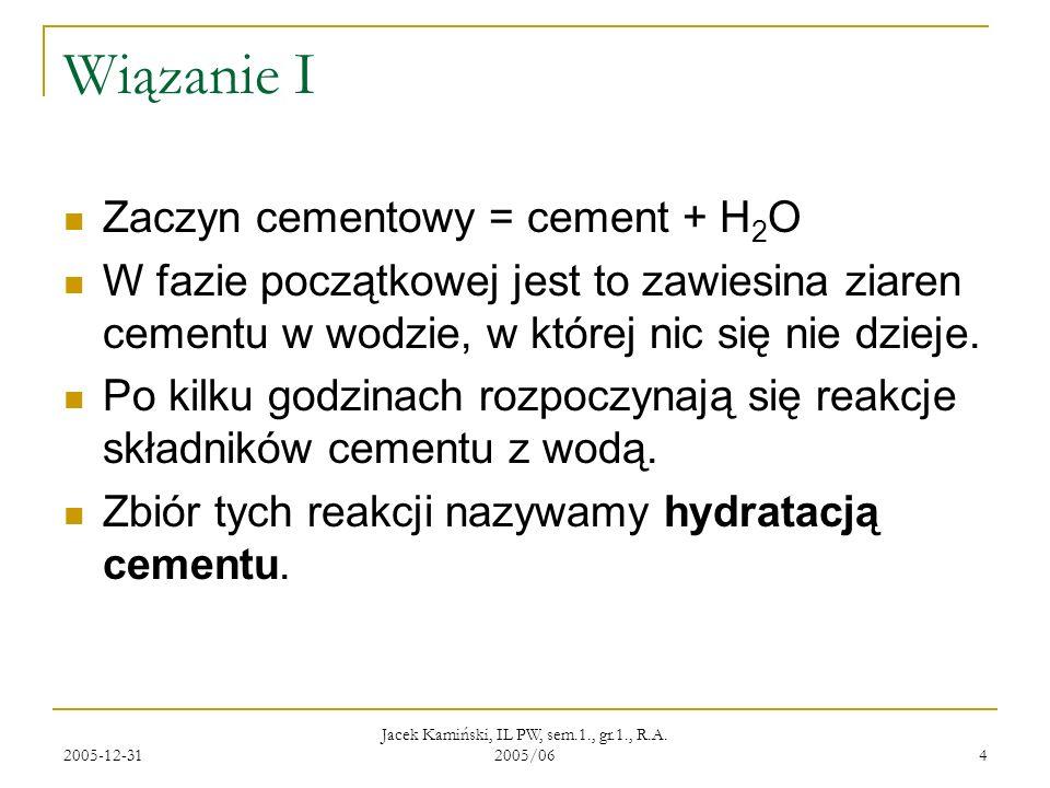 Jacek Kamiński, IL PW, sem.1., gr.1., R.A. 2005/06