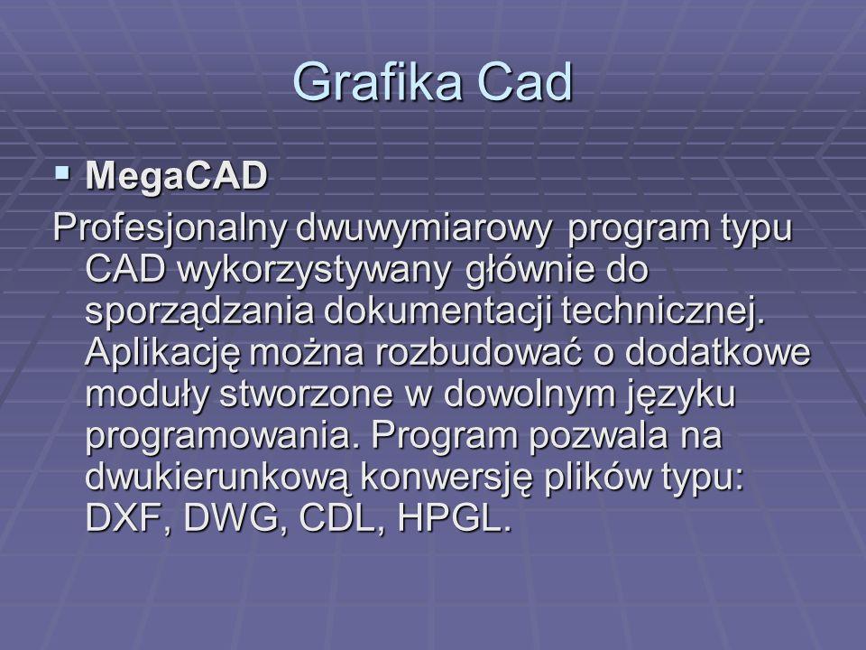 Grafika Cad MegaCAD.