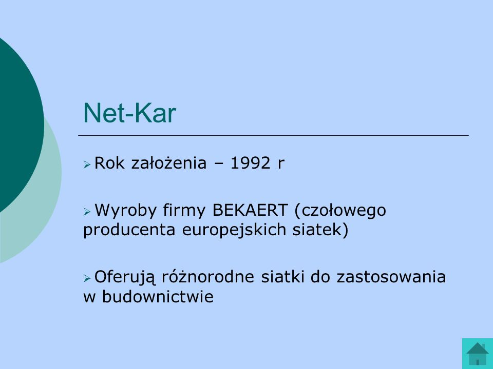 Net-Kar Rok założenia – 1992 r