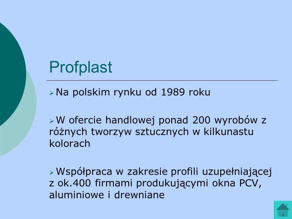 Profplast Na polskim rynku od 1989 roku