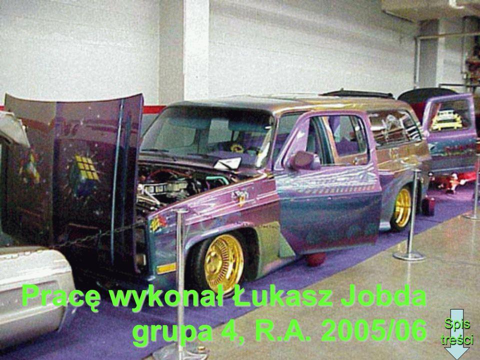 Pracę wykonał Łukasz Jobda grupa 4, R.A. 2005/06