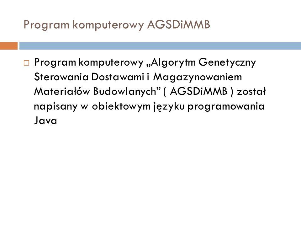 Program komputerowy AGSDiMMB