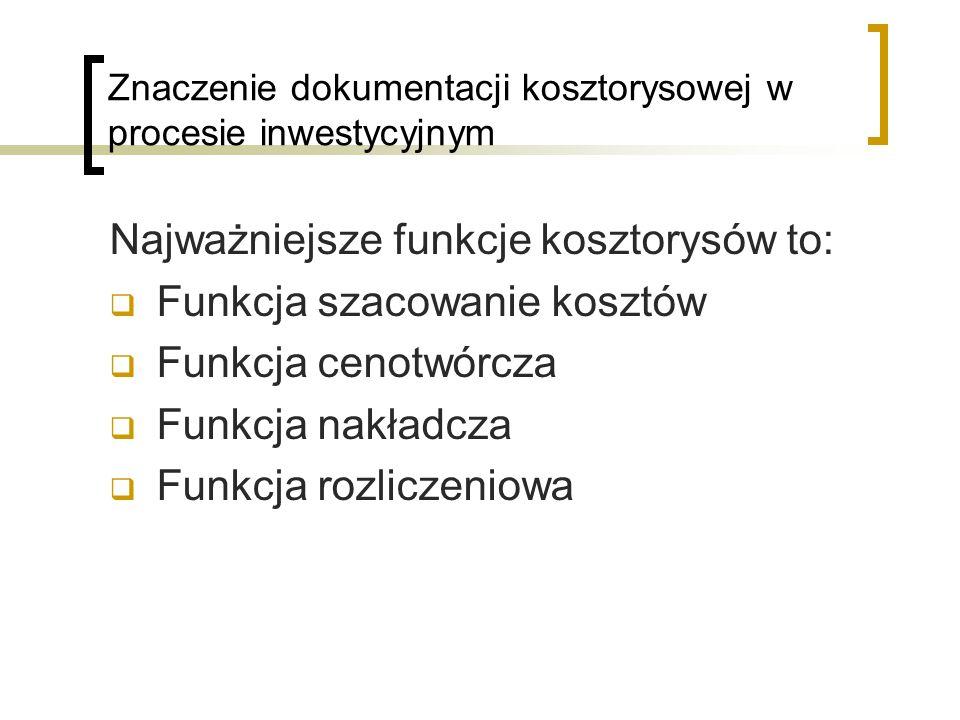 Znaczenie dokumentacji kosztorysowej w procesie inwestycyjnym
