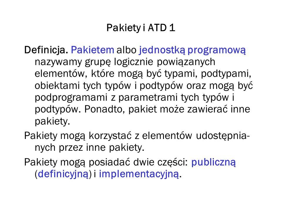 Pakiety i ATD 1