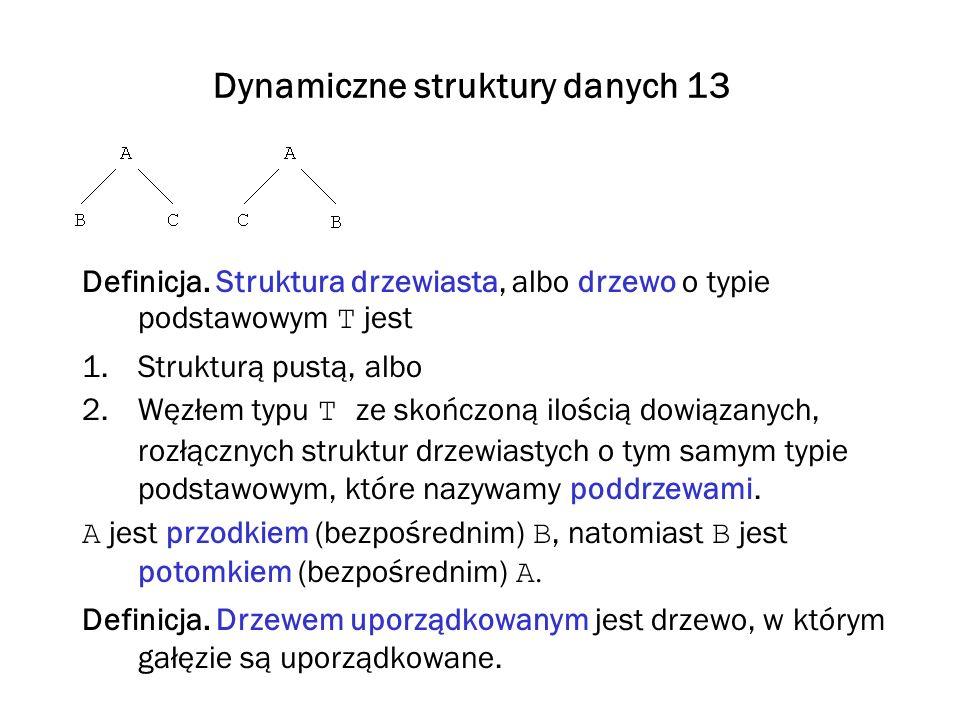 Dynamiczne struktury danych 13