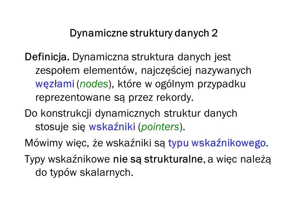 Dynamiczne struktury danych 2