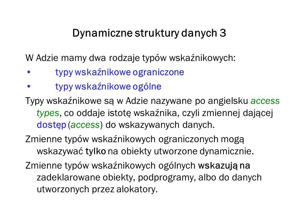 Dynamiczne struktury danych 3