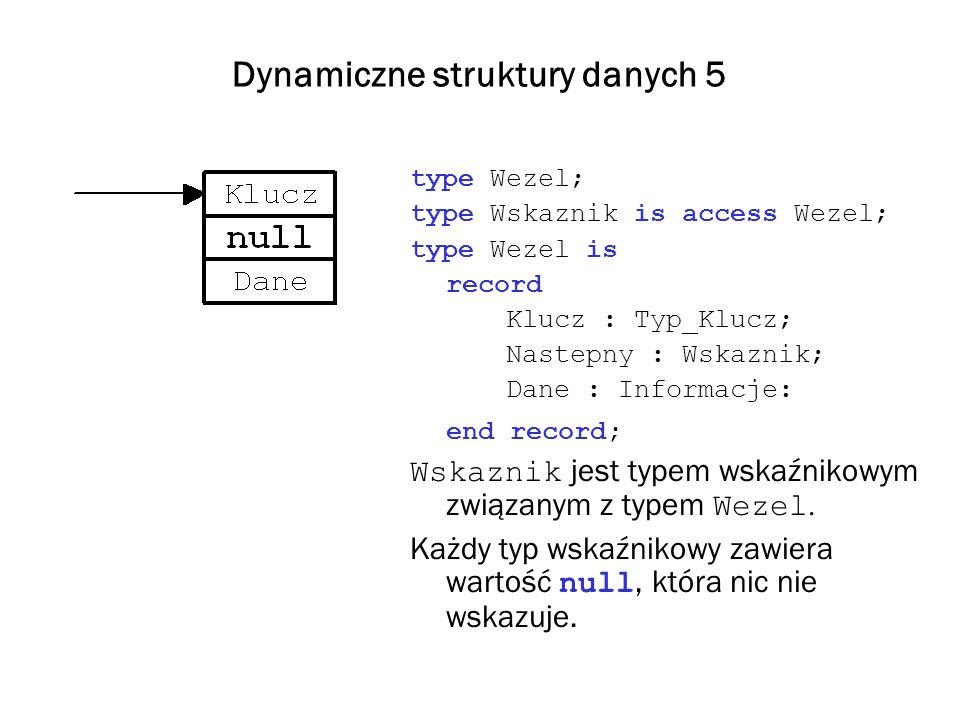 Dynamiczne struktury danych 5