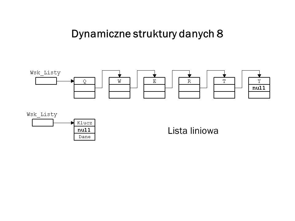 Dynamiczne struktury danych 8