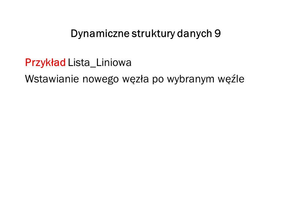 Dynamiczne struktury danych 9
