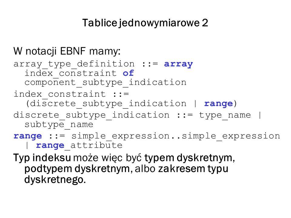 Tablice jednowymiarowe 2