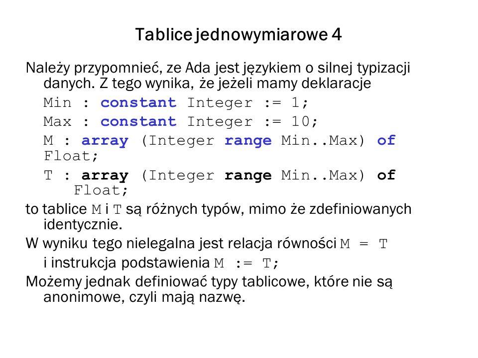 Tablice jednowymiarowe 4