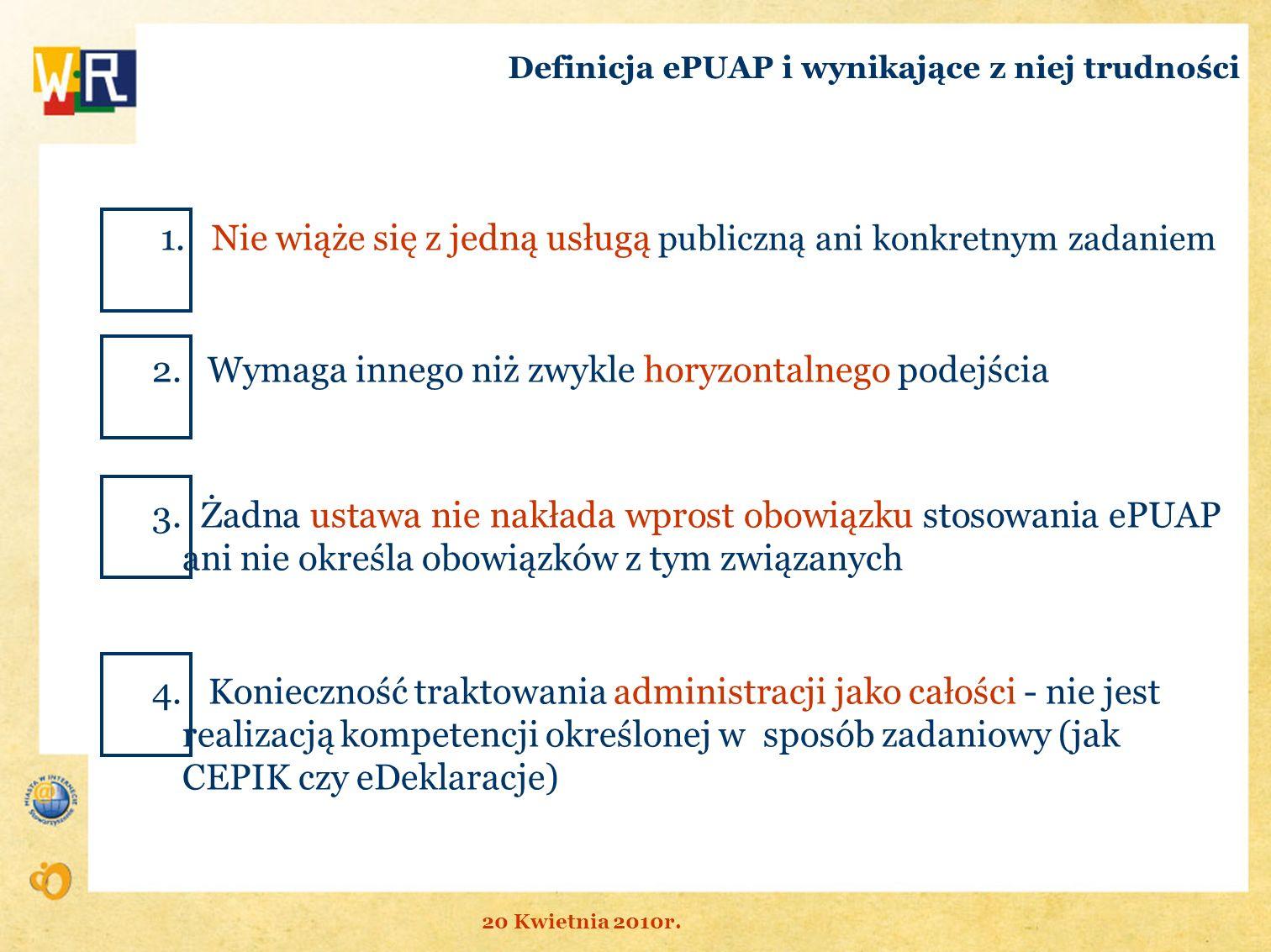 Definicja ePUAP i wynikające z niej trudności