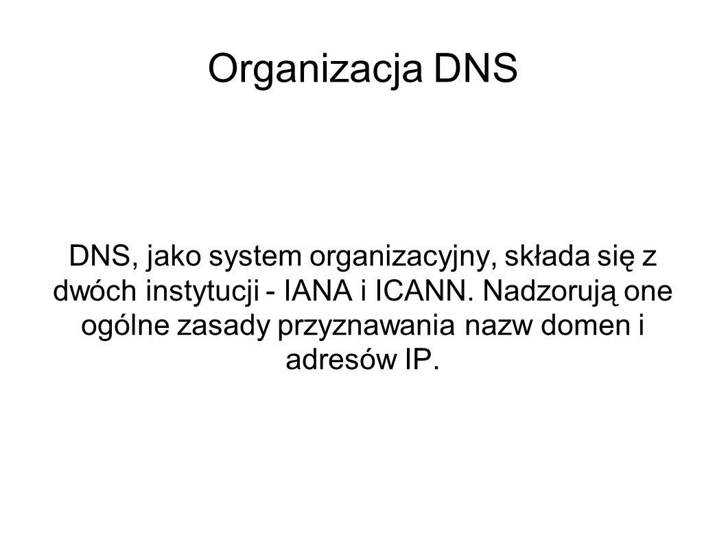 Organizacja DNS