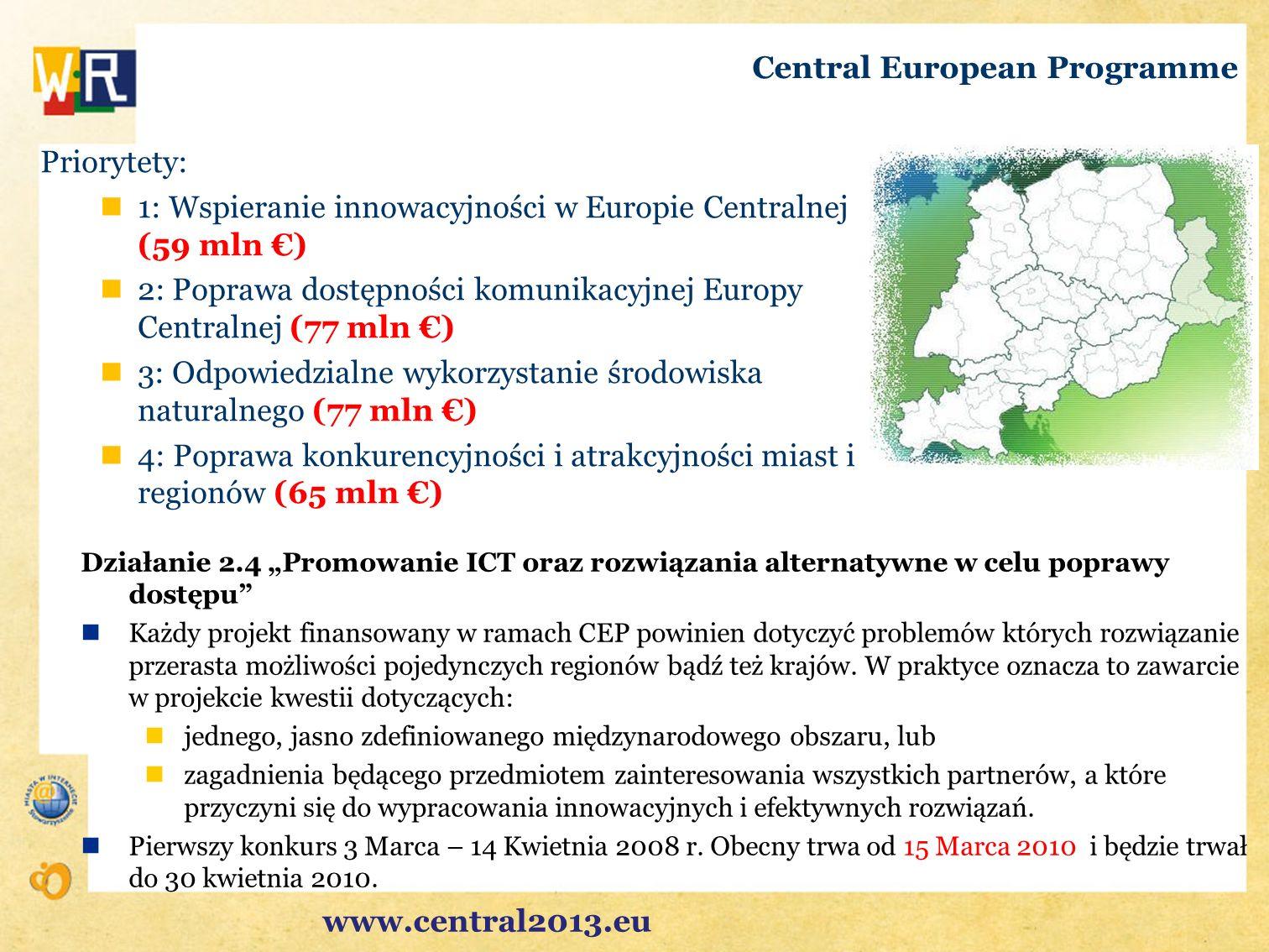 Central European Programme