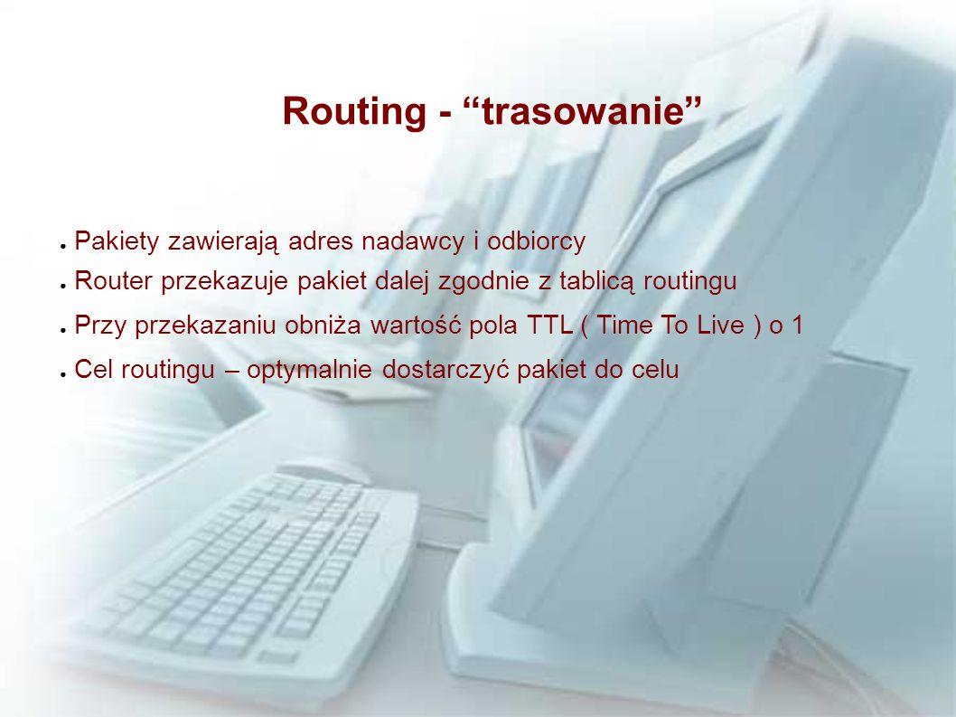 Routing - trasowanie