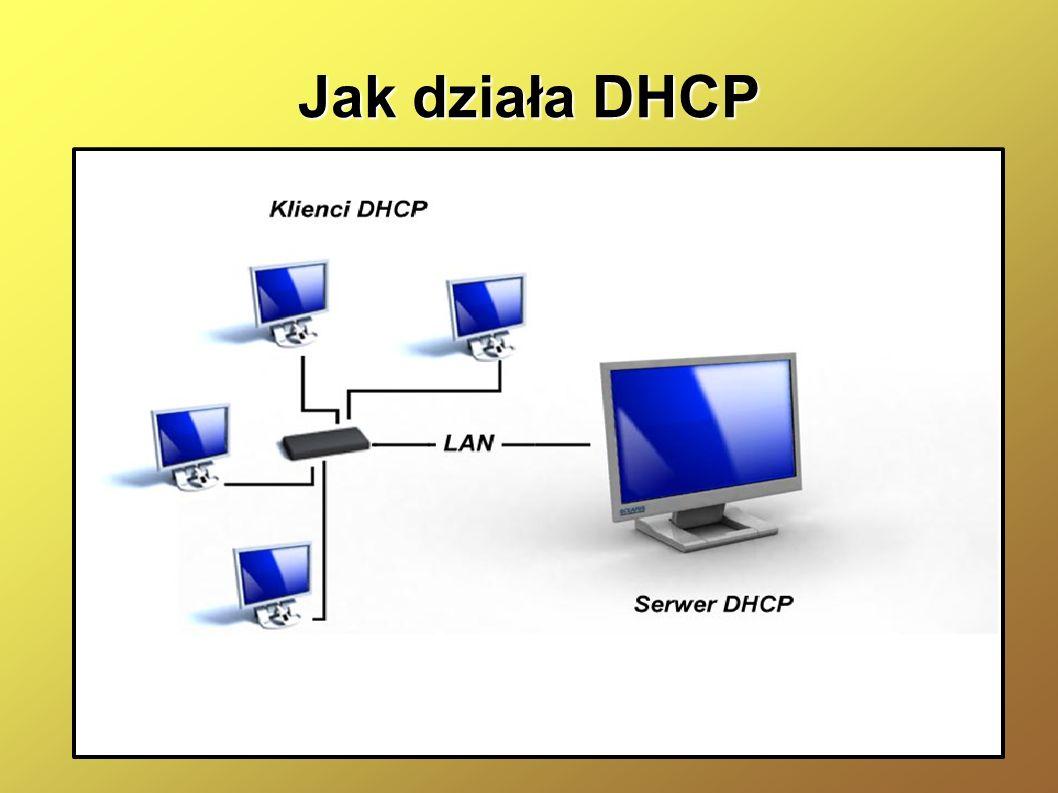 Jak działa DHCP