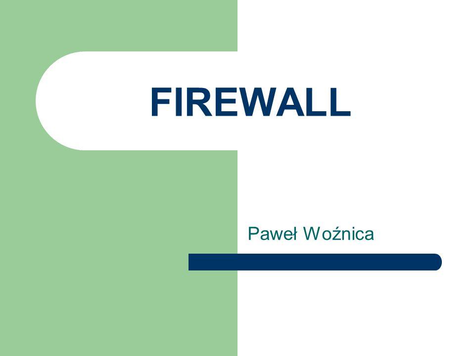 FIREWALL Paweł Woźnica