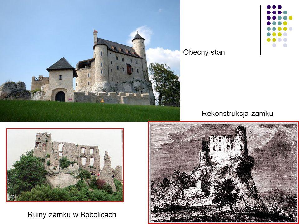 Obecny stan Rekonstrukcja zamku Ruiny zamku w Bobolicach