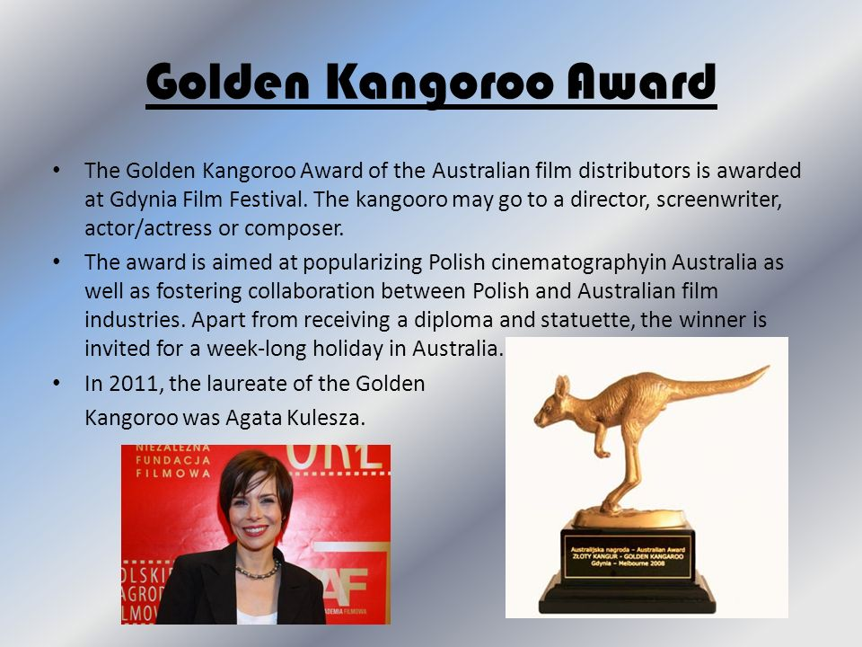 Golden Kangoroo Award