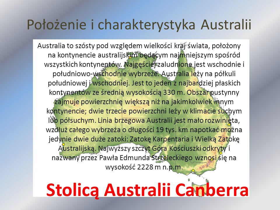 Położenie i charakterystyka Australii