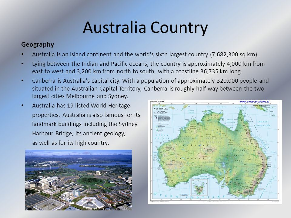 Australia Country Geography