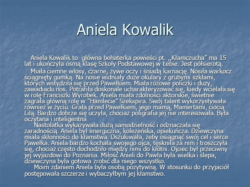 Aniela Kowalik