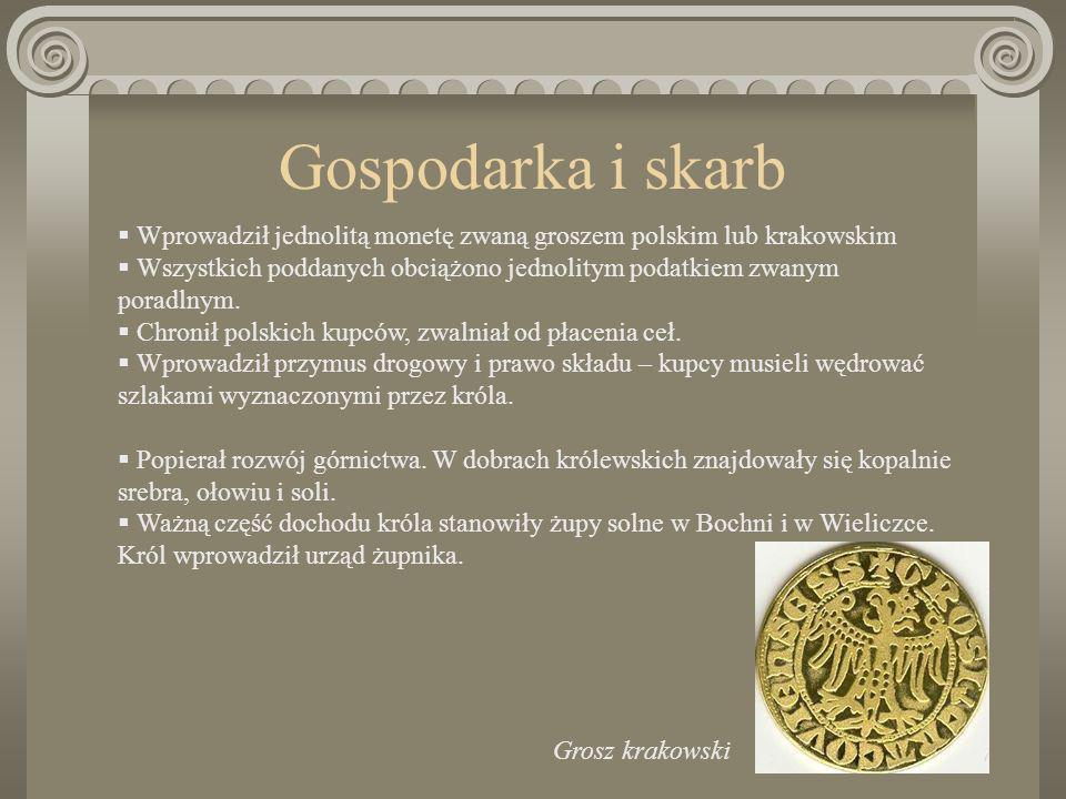 Gospodarka i skarb Grosz krakowski