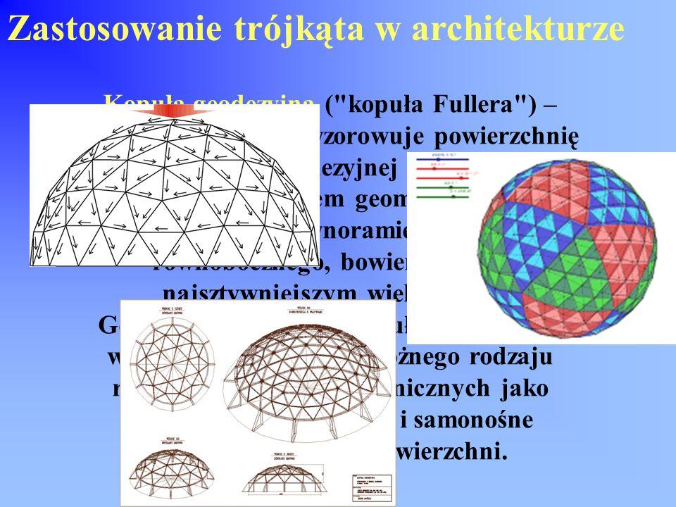 Zastosowanie trójkąta w architekturze