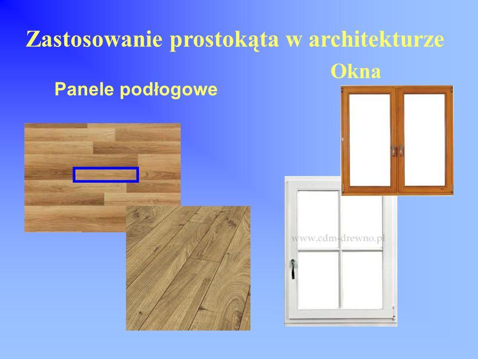 Zastosowanie prostokąta w architekturze