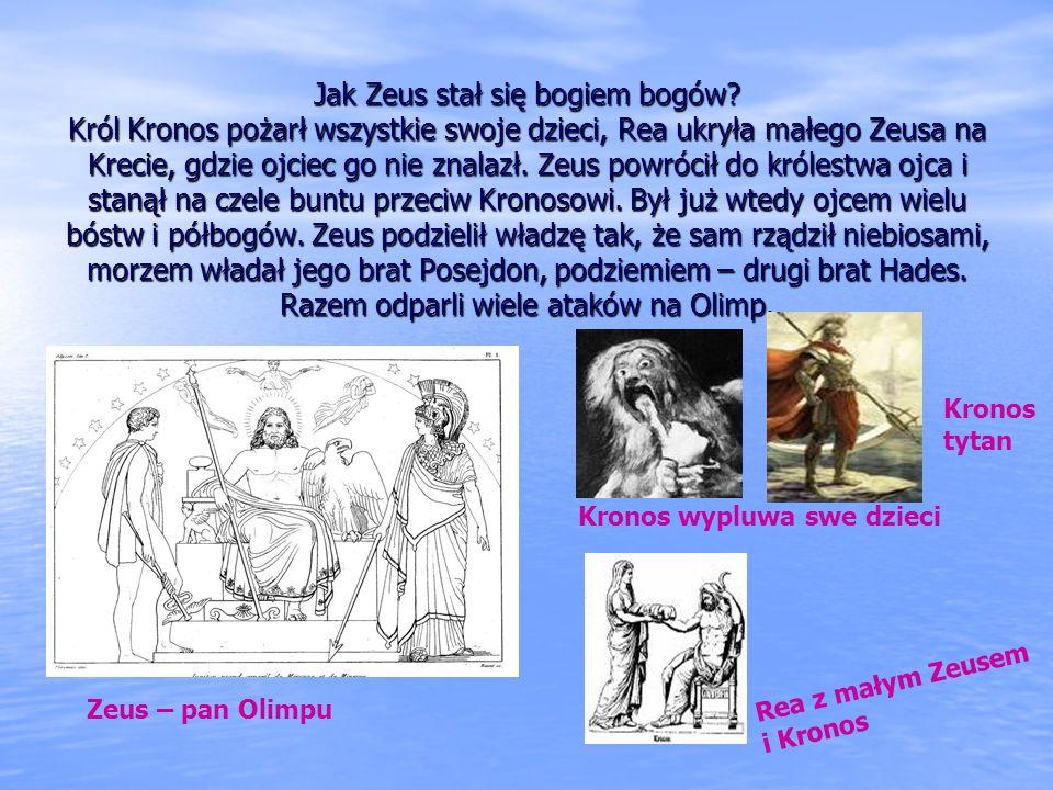 Jak Zeus stał się bogiem bogów
