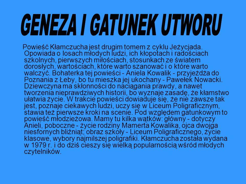 GENEZA I GATUNEK UTWORU