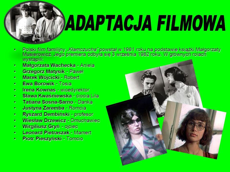ADAPTACJA FILMOWA