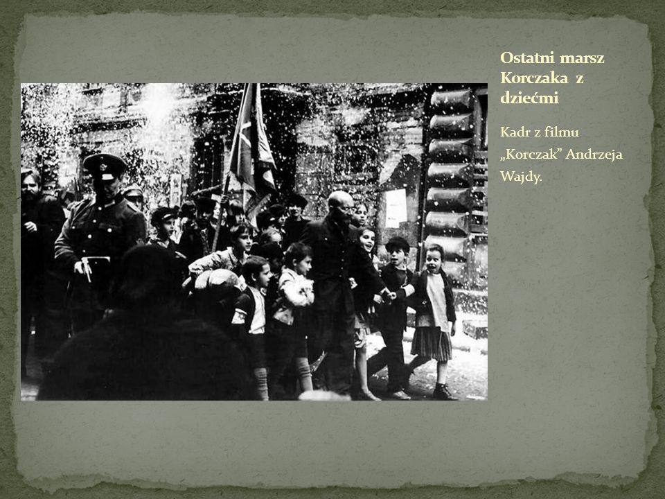 Ostatni marsz Korczaka z dziećmi