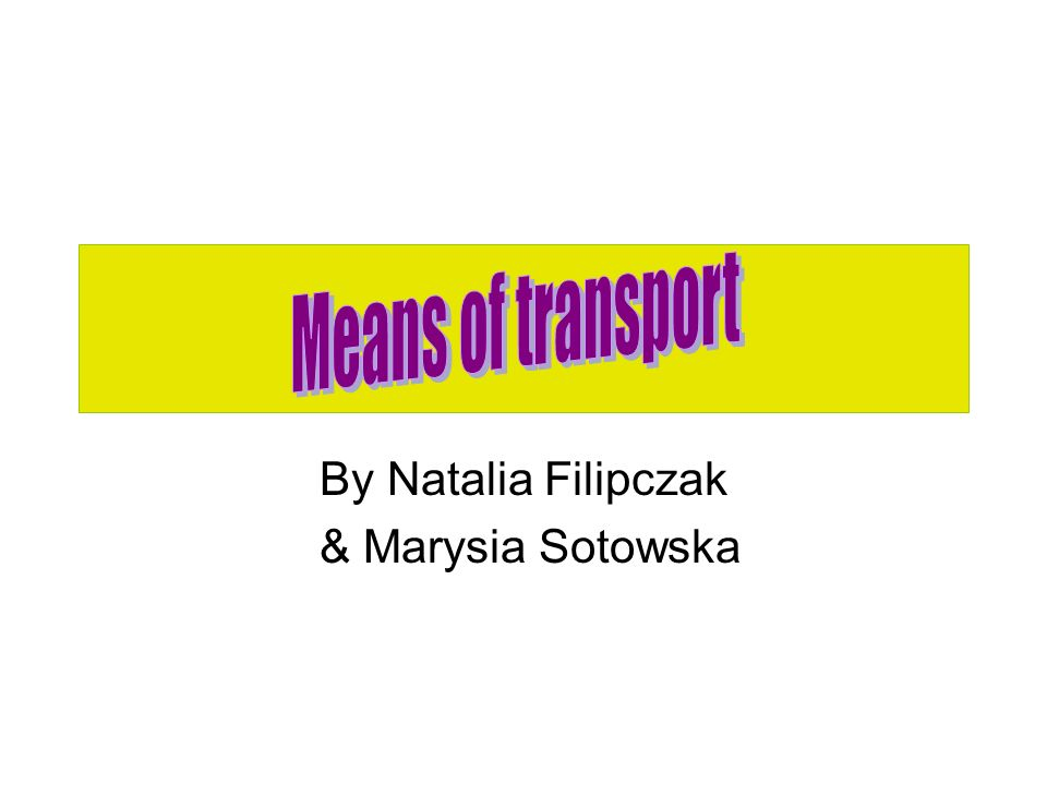 By Natalia Filipczak & Marysia Sotowska