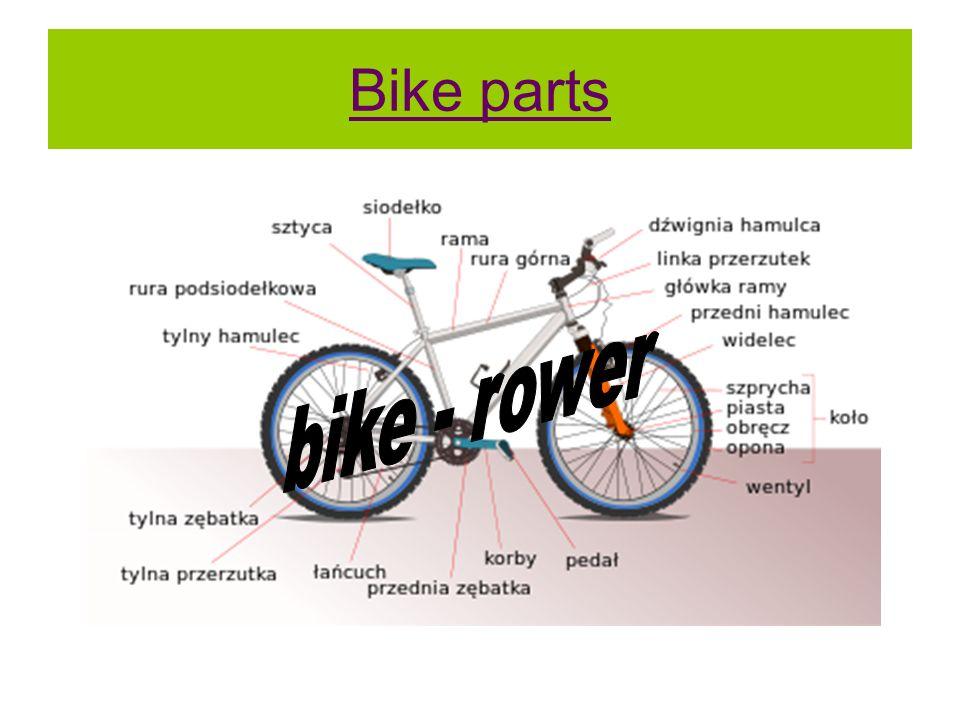 Bike parts bike - rower