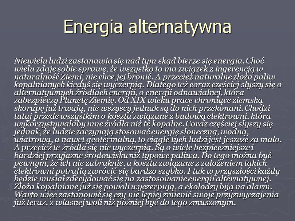Energia alternatywna