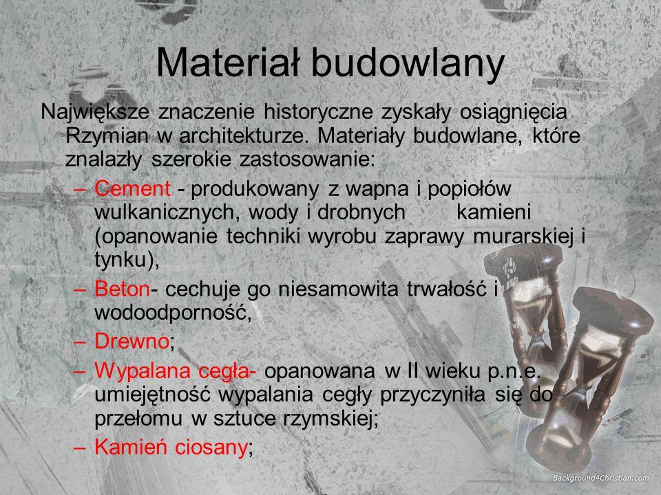 Materiał budowlany