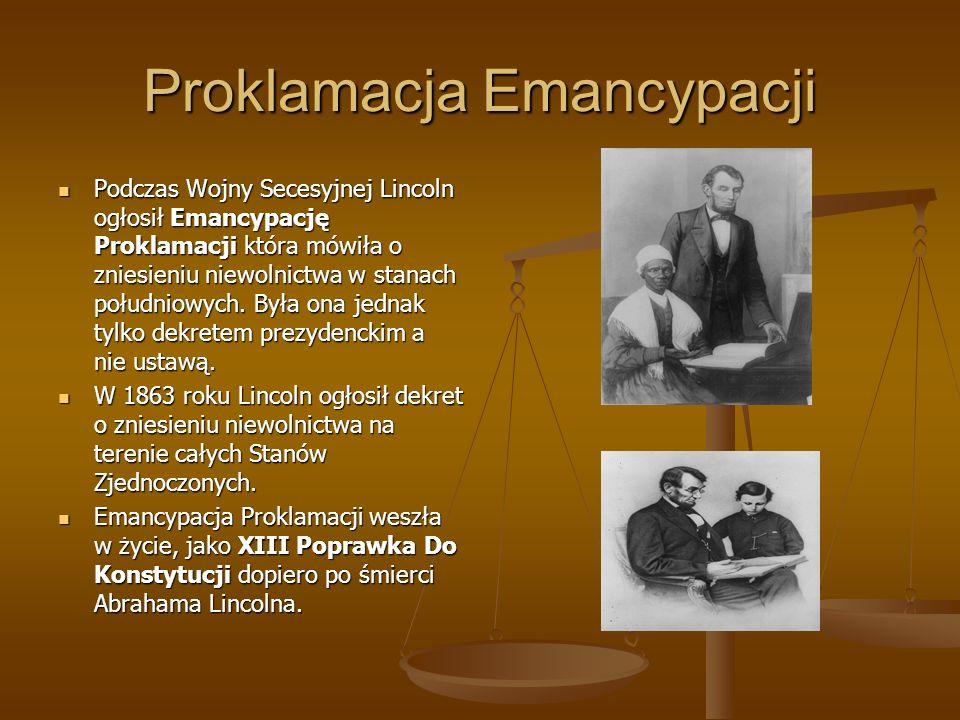 Proklamacja Emancypacji