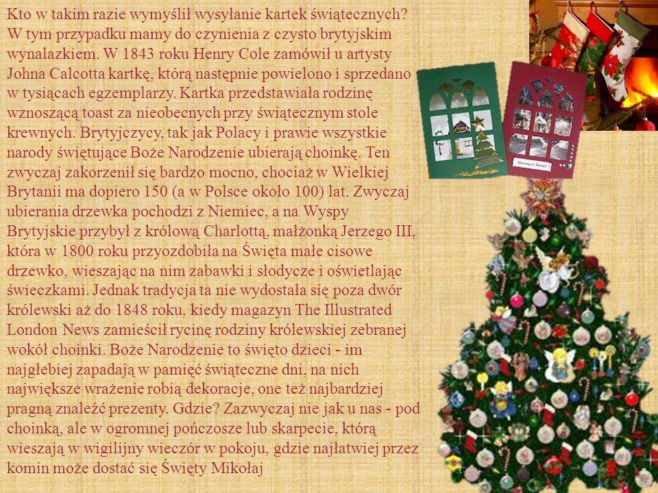 Kto w takim razie wymyślił wysyłanie kartek świątecznych