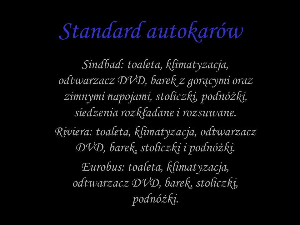 Standard autokarów