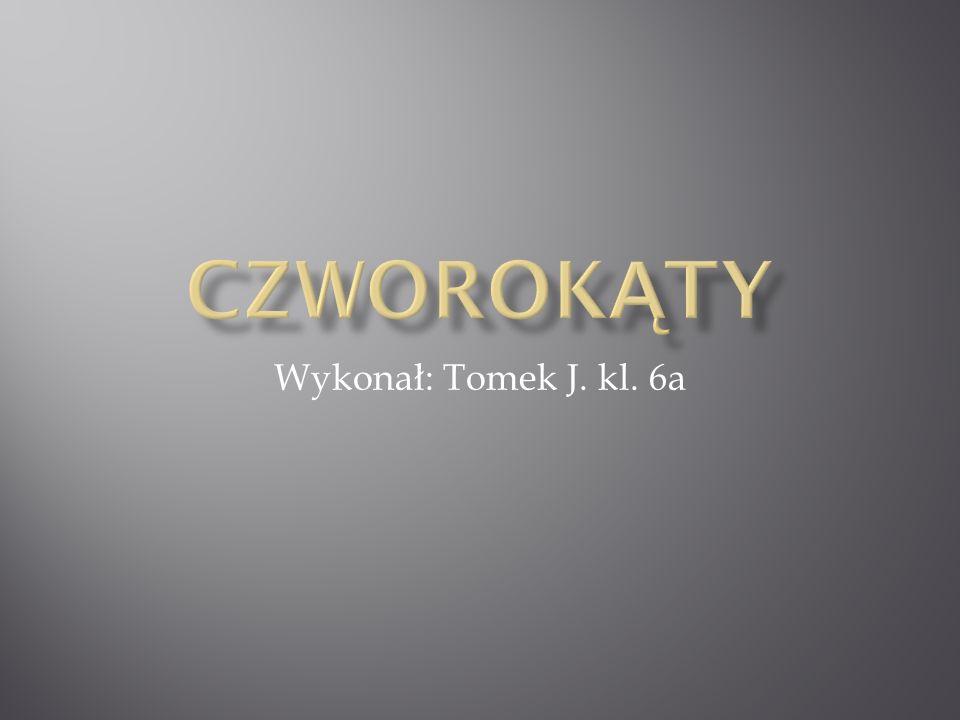 Czworokąty Wykonał: Tomek J. kl. 6a