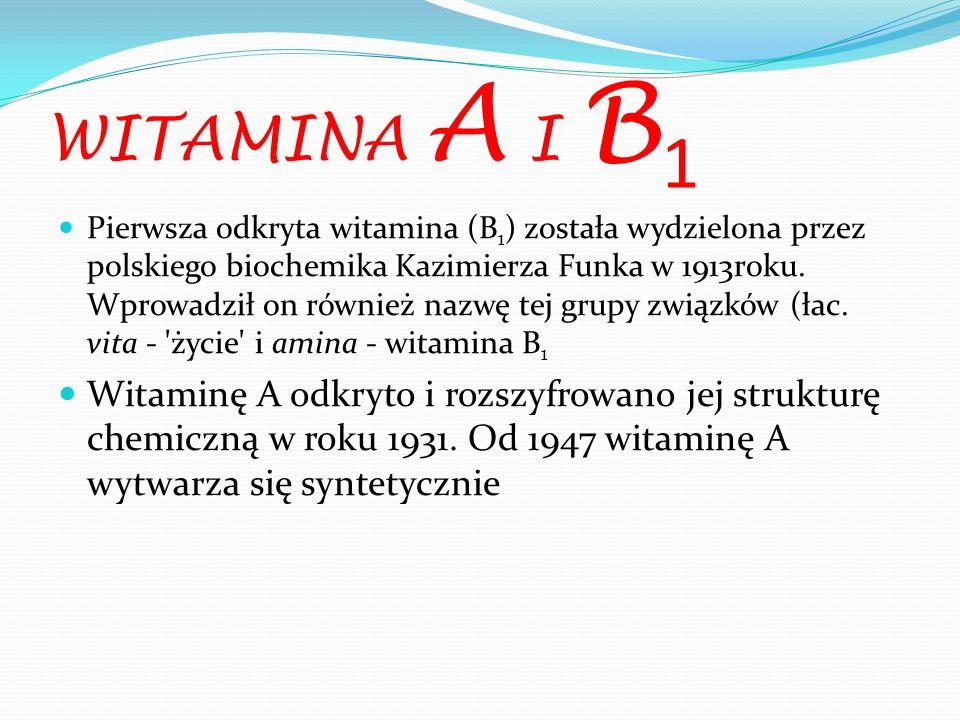 WITAMINA A I B1