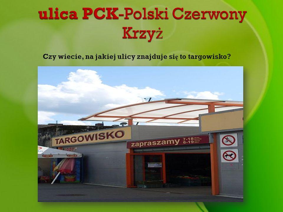 ulica PCK-Polski Czerwony Krzyż