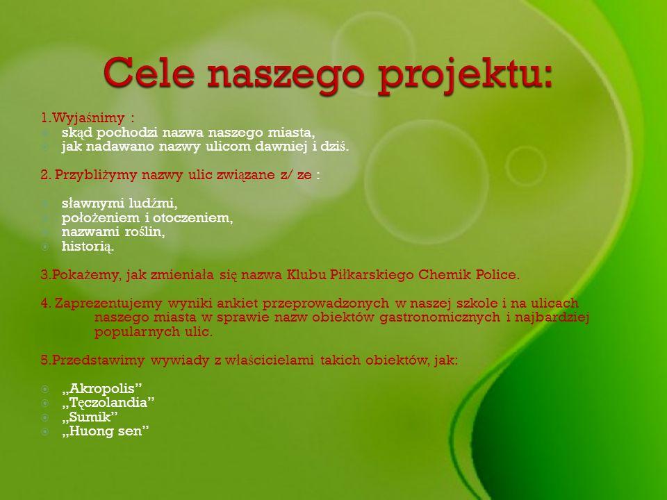 Cele naszego projektu: