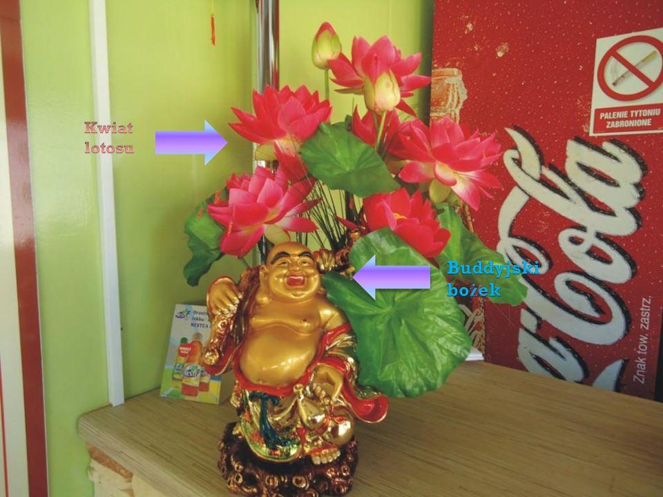 Kwiat lotosu Buddyjski bożek