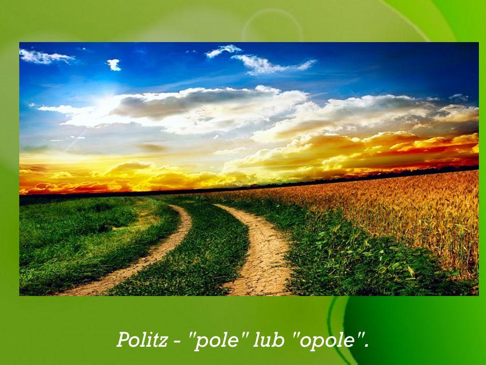 Politz - pole lub opole .