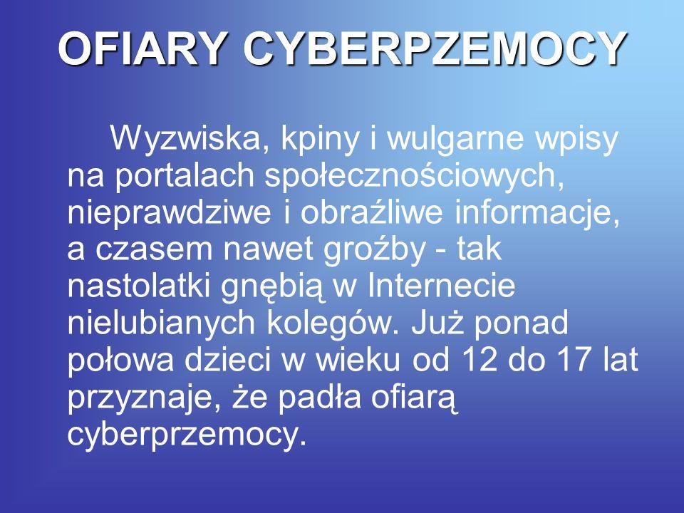 OFIARY CYBERPZEMOCY