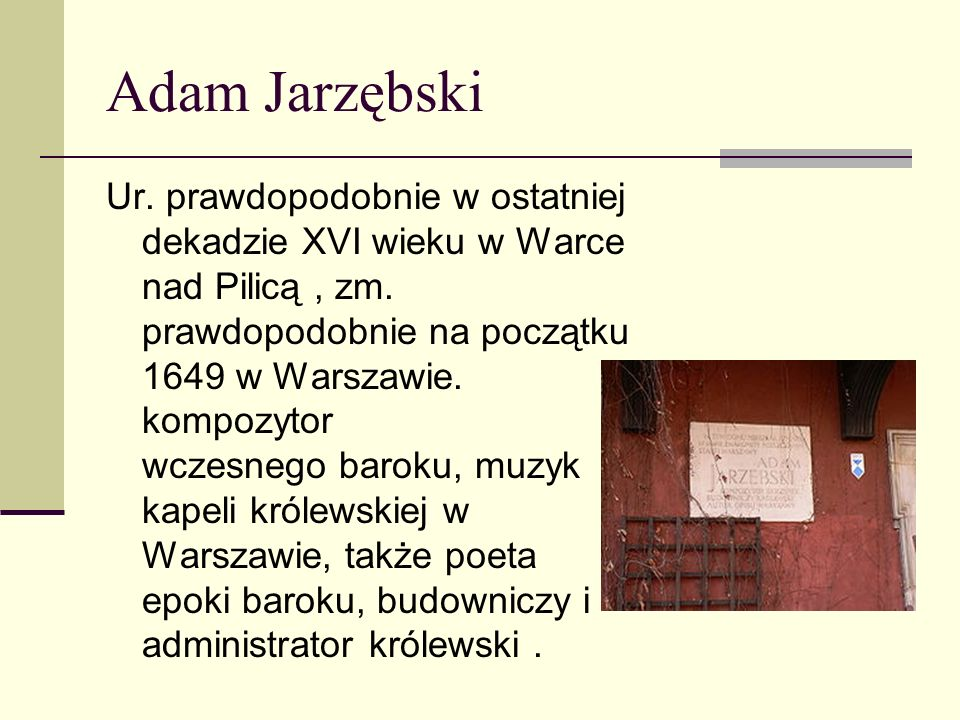 Adam Jarzębski