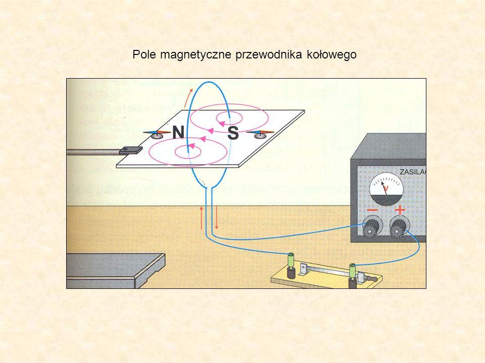 Pole magnetyczne przewodnika kołowego